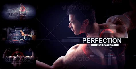 18 cool after effects for gym fitness business design