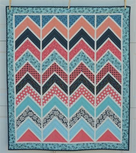 Chevron Pattern Quilts by Baby Chevron Quilt Craft Quilting