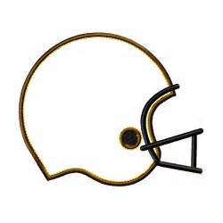 Football Helmet Template by Football Helmet Outline Clipart Best