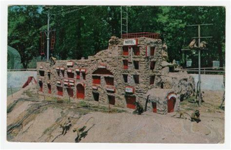 Topeka Kansas Records Monkey Island At Gage Park In Topeka Kansas Kansas Memory Kansas Historical Society