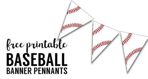 printable baseball birthday decorations free printable baseball banner baseball party decorations