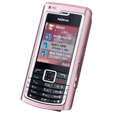 sim free mobile phones sim free mobile phone nokia n72 pearl pink