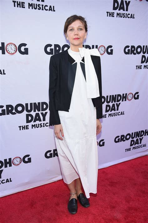 groundhog day opening more pics of maggie gyllenhaal updo 1 of 4 updos