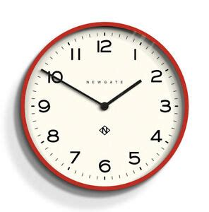 newgate clocks extra large red  dining room wall