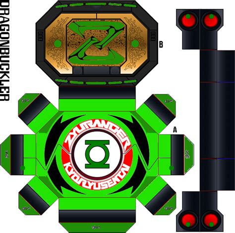 Green Lantern Papercraft - green lantern morpher by largefry on deviantart