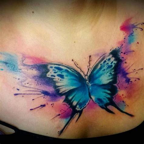 watercolor tattoo butterfly watercolor butterfly designs ideas and meaning