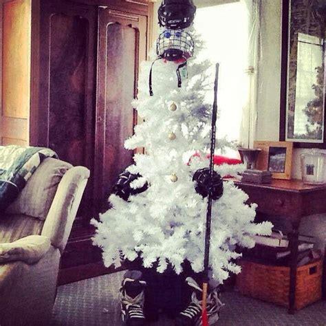hockey christmas tree hockey is my life pinterest