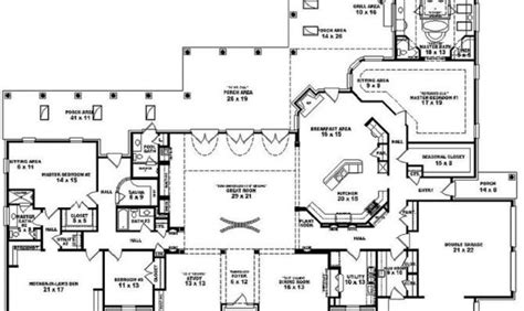 5 bedroom single story house plans single story 5 bedroom house plans 27 delightful 5 bedroom house plans single story