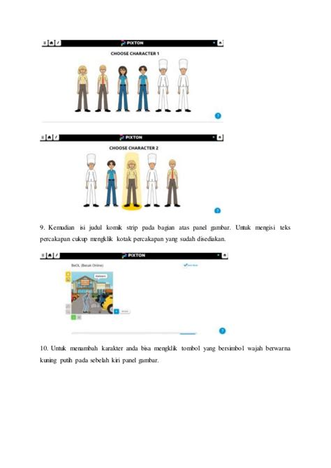 membuat layout komik tutorial membuat komik strip pixton