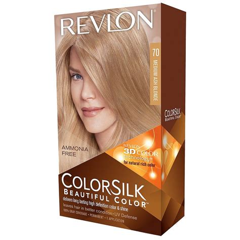 Revlon Hair Color revlon colorsilk haircolor light ash