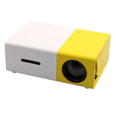 Portable Led Projector yg300 mini portable 1080p hd led projector multimedia home