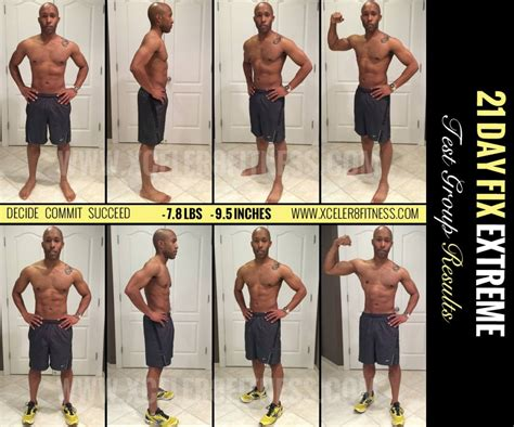 beachbody 3 day refresh results official review 21 day fix results for must see inside