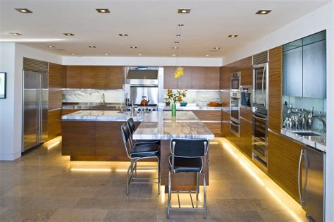 Modern L Shaped Kitchen With Island | l shaped kitchen with island kitchen modern with breakfast