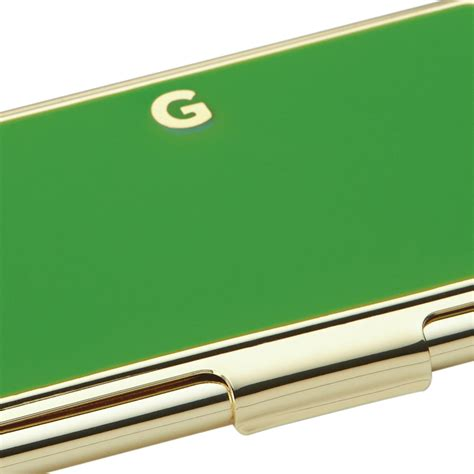 One In A Million Initial Business Card Holder