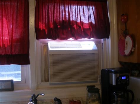 Ac Air Curtain how do curtains work with a window ac dh hung curtains