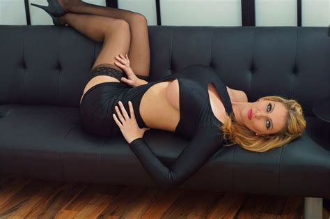 hot on sofa leigh darby laying on a couch tightdress hot body rack