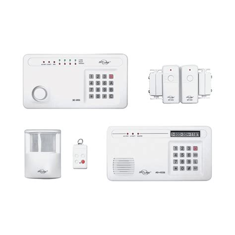 skylink wireless deluxe security alarm system with
