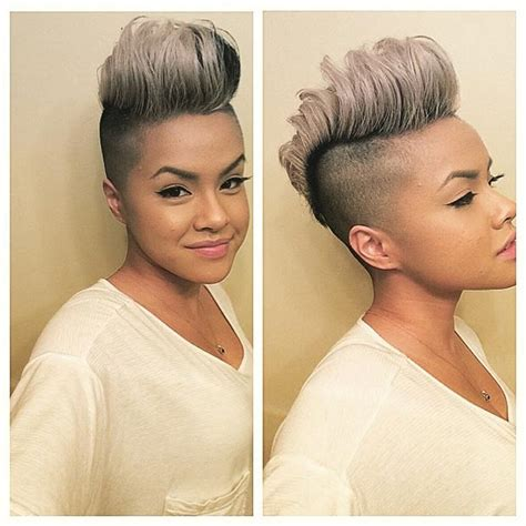 hair styles with both of sides shaved 50 short hairstyles for black women stayglam