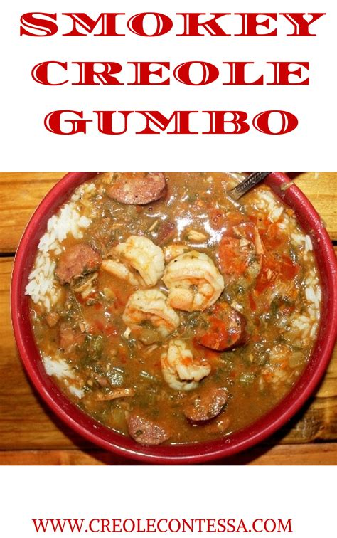 How To Do Spring Cleaning by Smokey Creole Gumbo With Sauce Creole Contessa