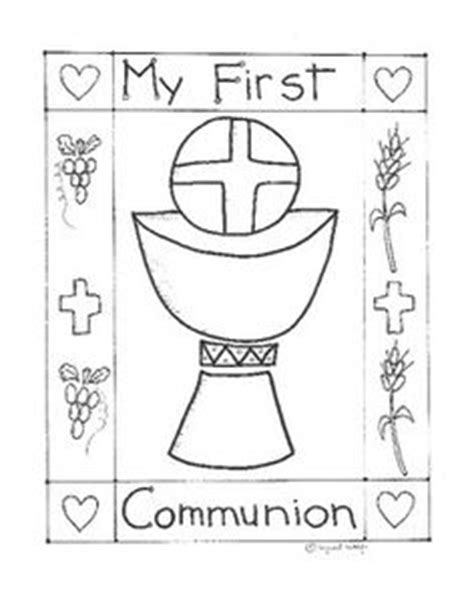 catholic coloring pages eucharist 1000 images about catholic kids on pinterest the