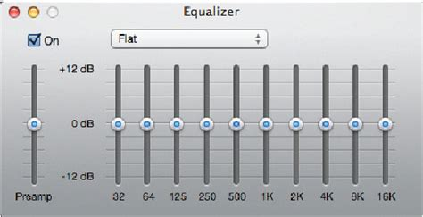 conduct performance testing   audio graphic equalizer dummies