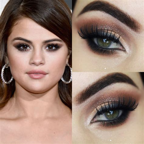 tutorial selena gomez inspired makeup tutorial maquiagem da selena gomez do grammy 2016