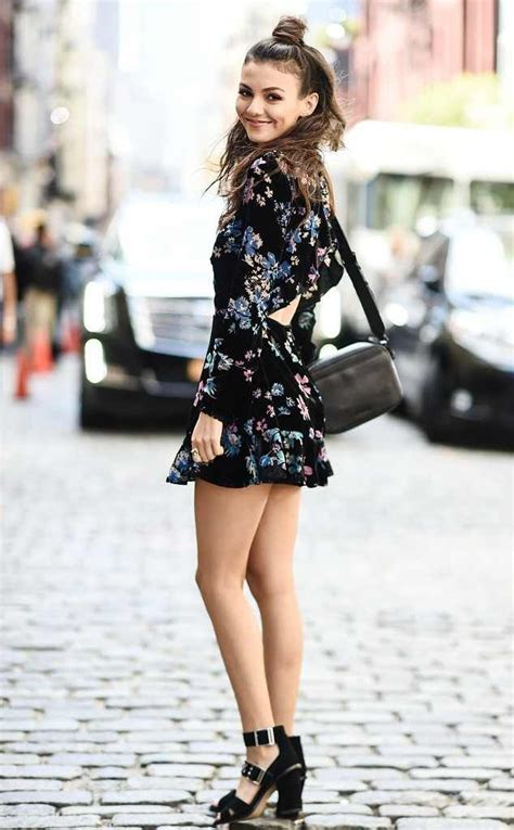 victoria justice celeb victoria justice from best celeb street style from nyfw