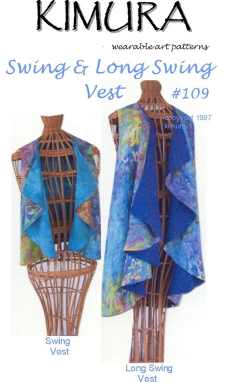 swing vest pattern items similar to stephanie kimura s swing long swing