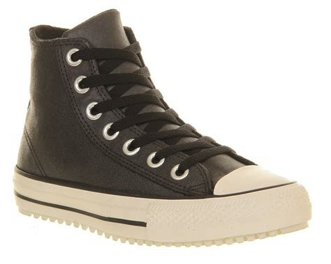 converse winter boots converse ctas winter boots in black lyst
