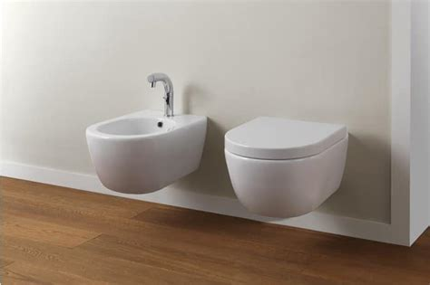 bidet dusche wall hung wc and bidet made of ceramic idfdesign