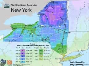 Garden Zones Canada - new york usda map of hardiness planting zones