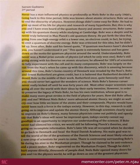 Never Give Up Essay by Never Gonna Give You Up Student Pulls Rickroll Prank In Essay By M Njau Meme Center