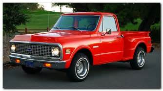 1972 chevy c10 shortbed stepside trucks and