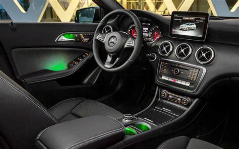 mercedes a klasse innen neue mercedes a klasse 2016 facelift im neuen modelljahr
