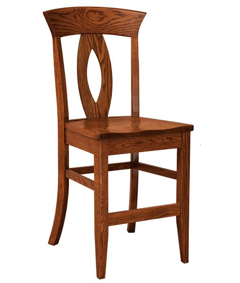 bar stools counter height wood f n amish chairs stationary counter height stool wood