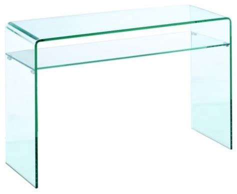 glass sofa table modern lumeno glass sofa table modern side tables and end