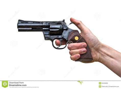 Up Gan up of a gun in a stock photography