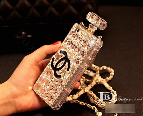 Chanel Parfum Swarovski For Iphone 6 buy wholesale unique swarovski chanel perfume bottle rhinestone cases for iphone 6 plus