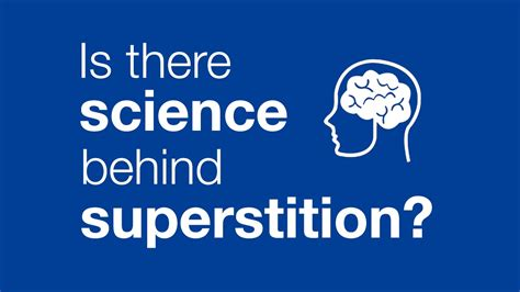 is there science superstitions