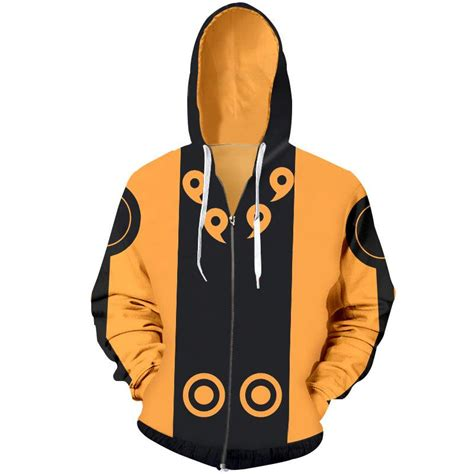 Jaket Sweater Anime Shippuden shippuden kyuubi of the six paths hoodie jacket for sale