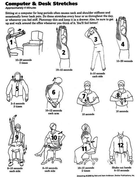 Desk Stretches For Neck And Shoulders neck shoulder stiffness and back aches are a common