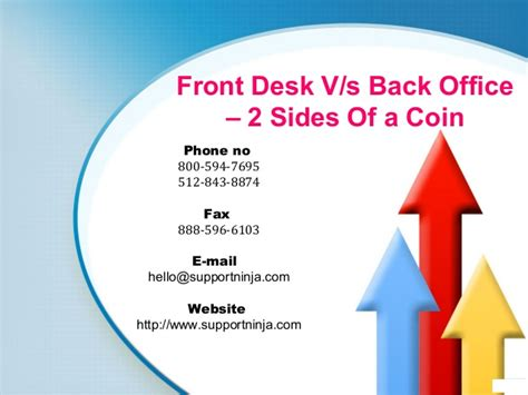 Back Office To Front Office Mba by Front Desk V S Back Office 2 Sides Of A Coin