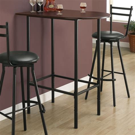 shop monarch specialties cappuccino wood bar table at