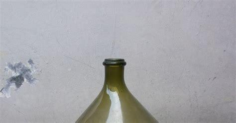 antikpisan botol jumbo antik warna hijau lumut