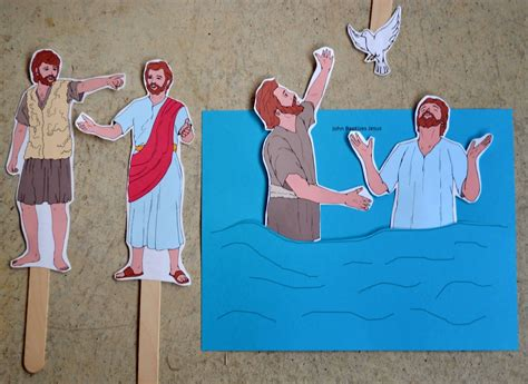 baptism crafts for bible for preschool alphabet w is for water