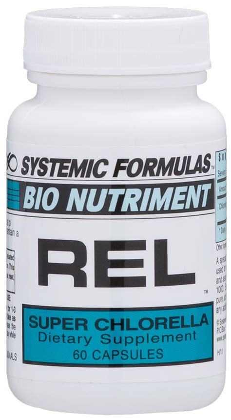 Chlorella Detox Protocol by Rel Chlorella Systemic Formulas