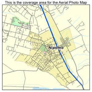 aerial photography map of nipomo ca california