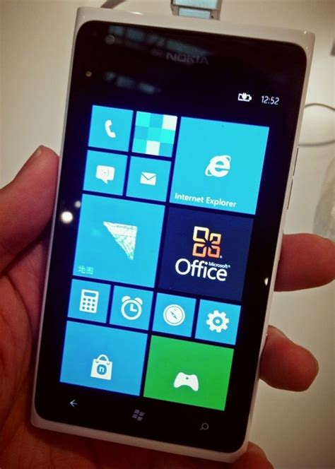 Nokia Lumia Windows 7 nokia lumia 900 seen running windows phone 7 8