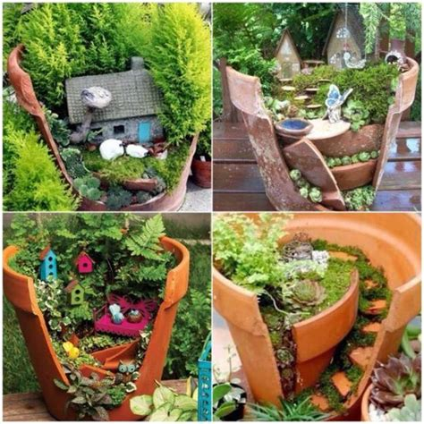 Cheap Containers For Gardening - 33 miniature garden designs fairy gardens defining new trends in container gardening
