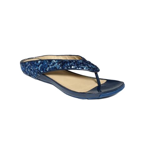 kenneth cole flat shoes kenneth cole reaction waterpark flat sandals in blue